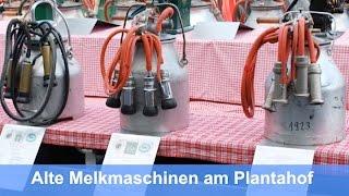 Historische Melkmaschinen am Plantahoftag
