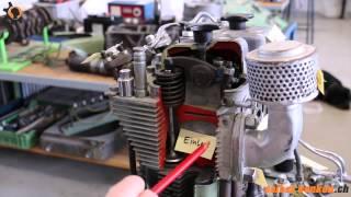 4T Diesel Motor Begriffe und Funktion