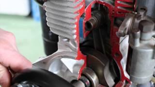 2T Motor Bauteile und Funktion